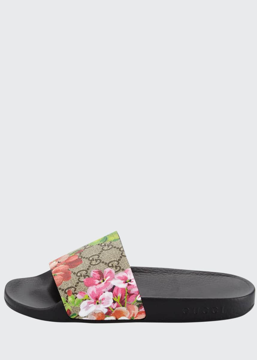 Gucci Gucci Pursuit Blooms Slide Sandal