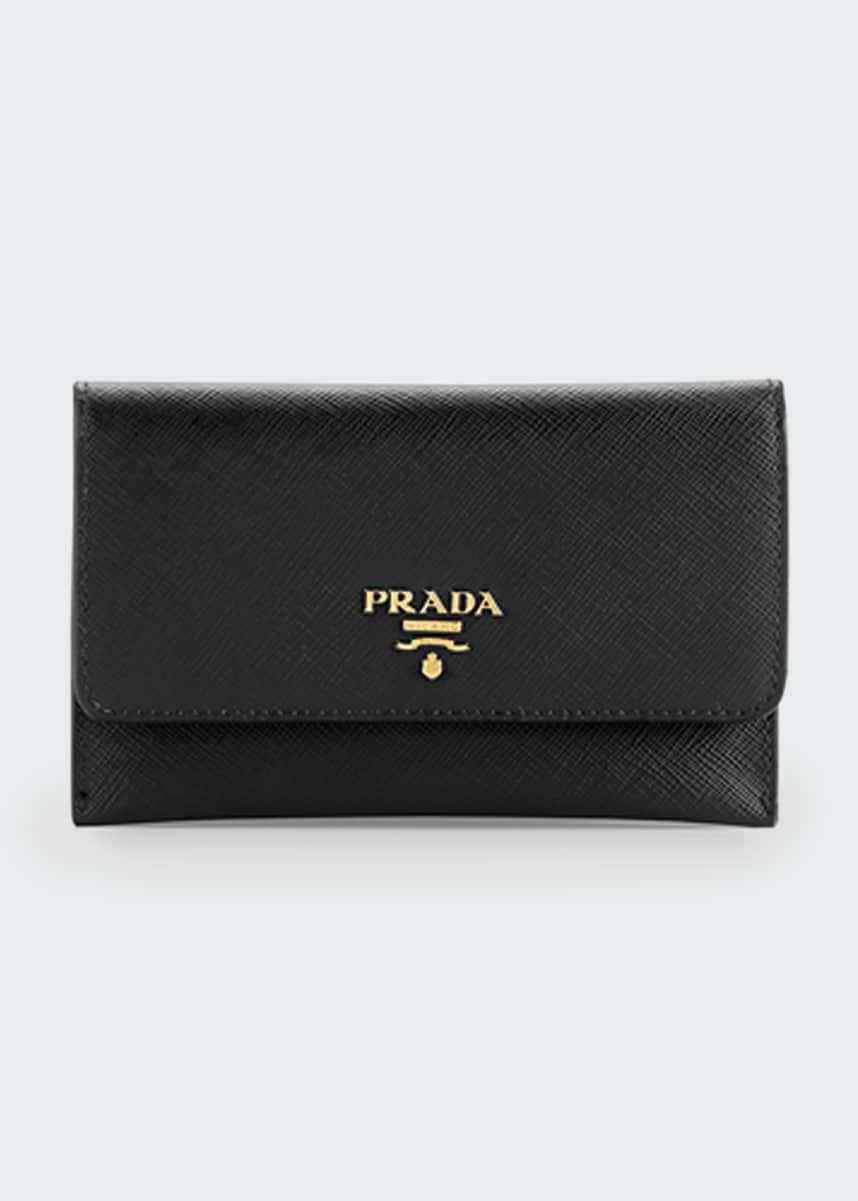 Prada Saffiano Wallet/Card Case