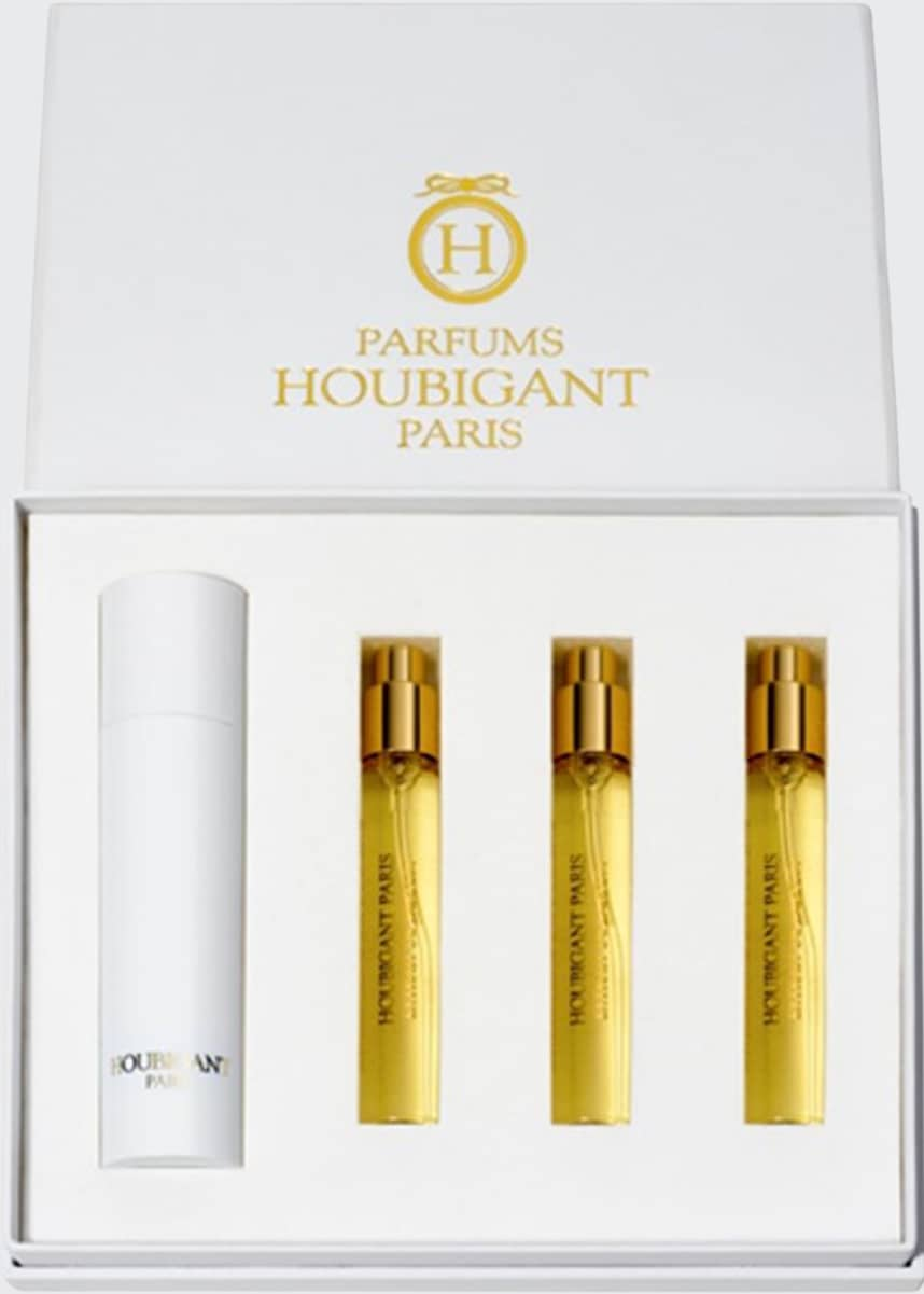 Houbigant Paris Quelques Fleurs Royale Extrait Travel Spray Set