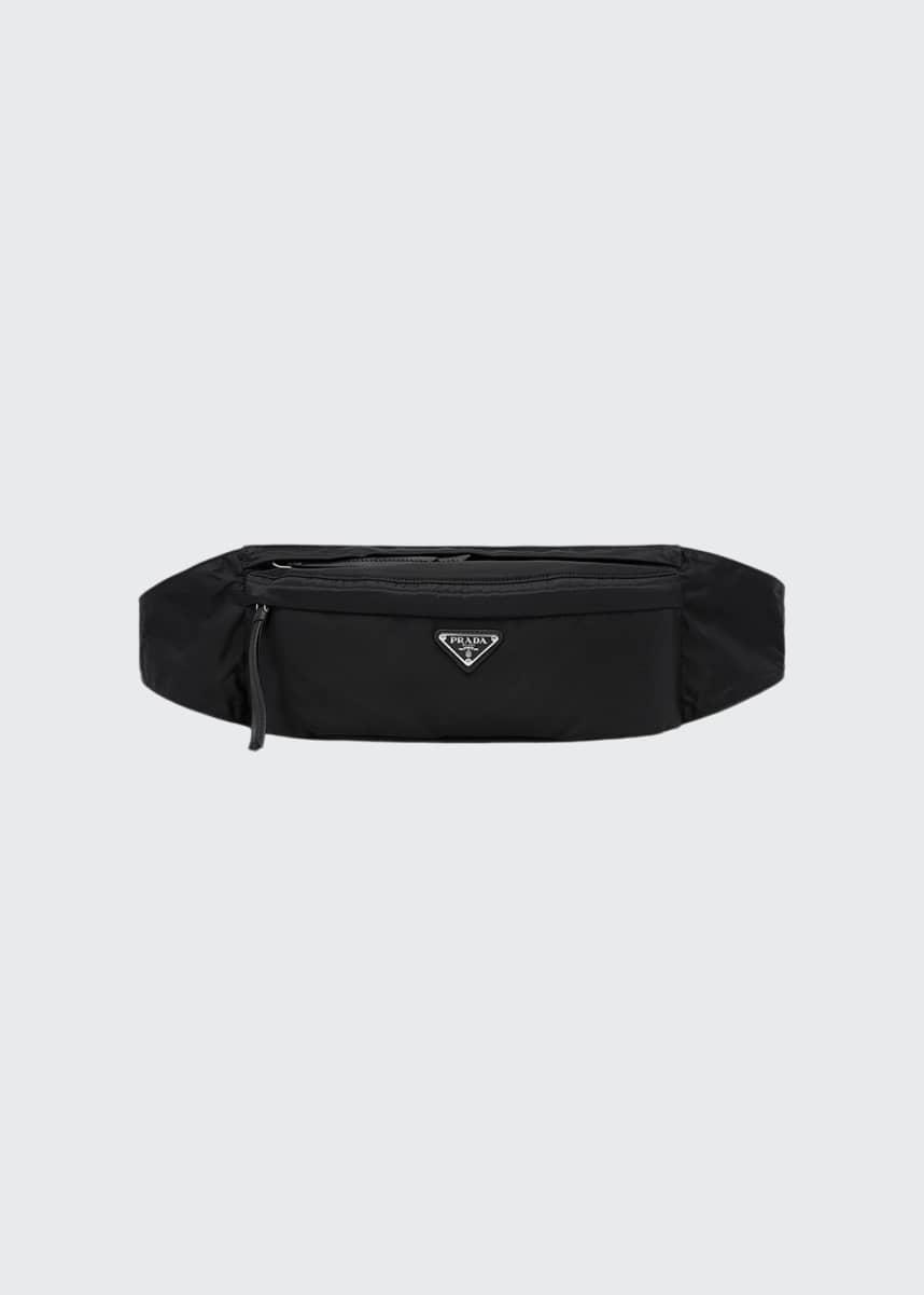 Prada Vela Nylon Belt Bag