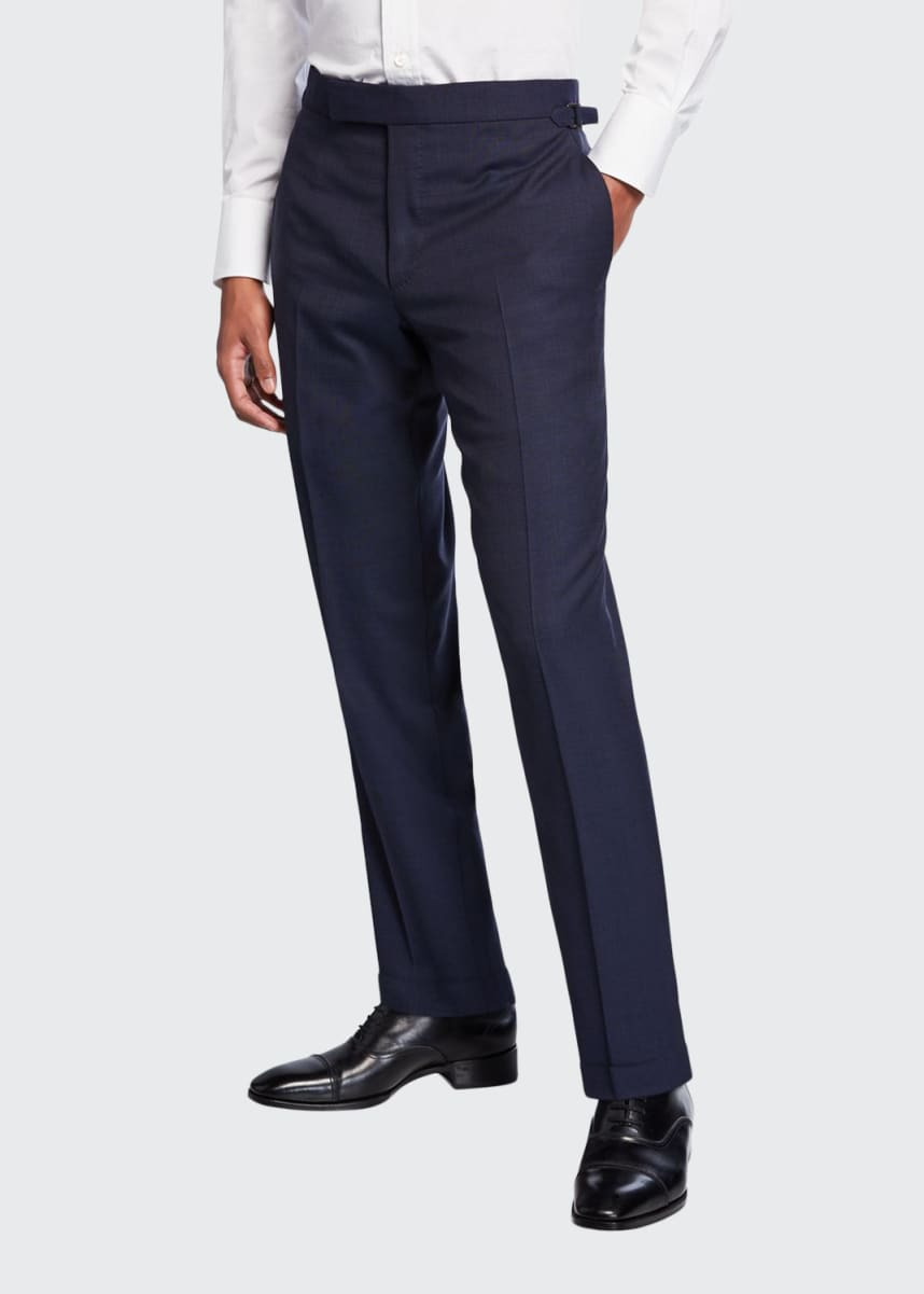 TOM FORD Men's O'Connor Pinpoint Dress Pants