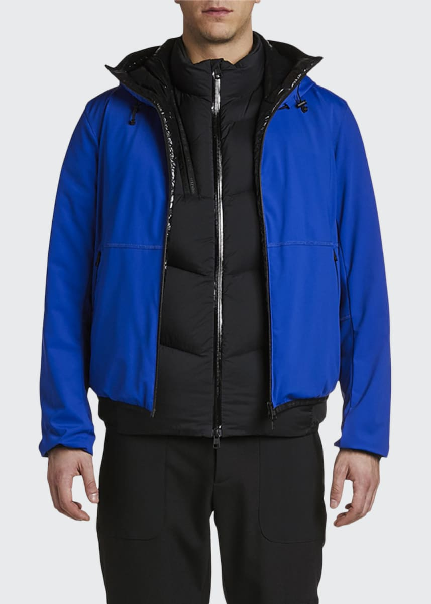 Moncler Men's Duport Two-Tone Jacket