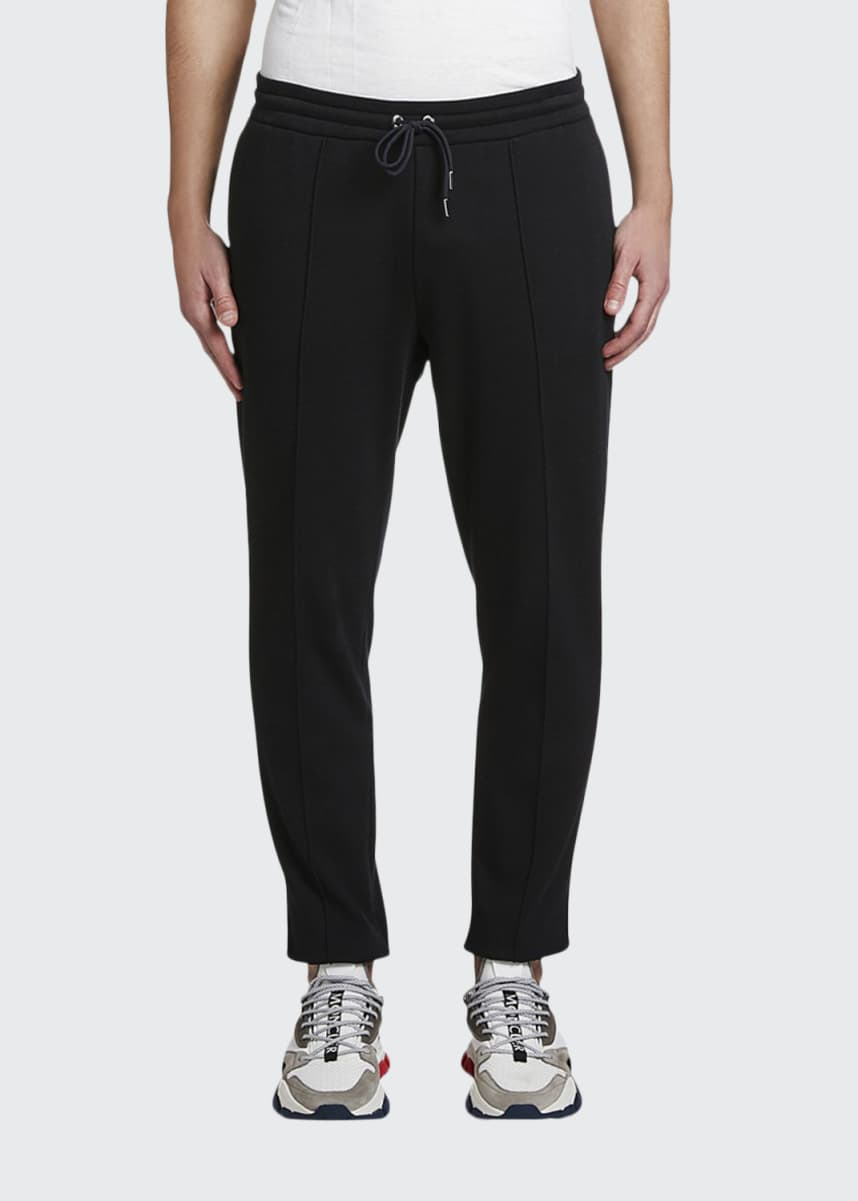 Moncler Men's Woven Drawstring Tapered Pants