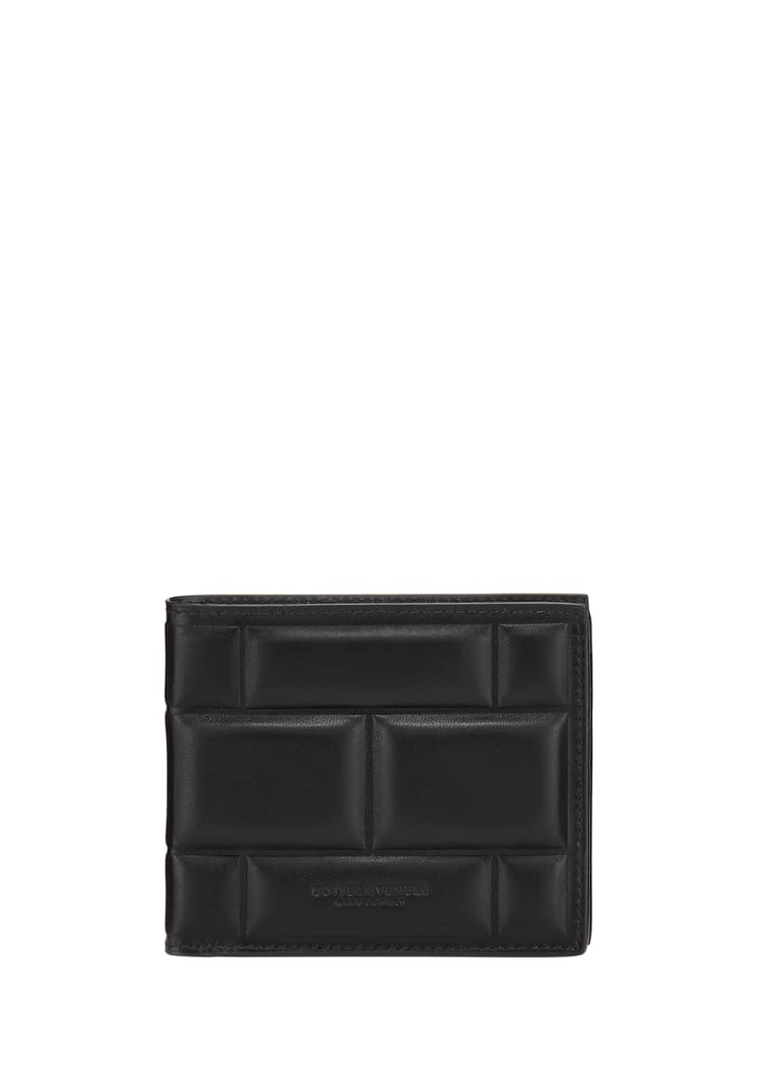 Bottega Veneta Men's Textured Leather Bifold Wallet