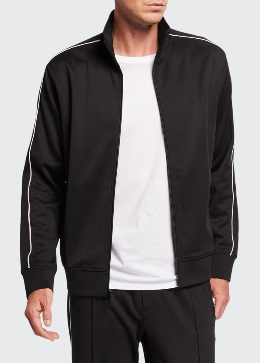Vince Men's Side Stripe Track Jacket