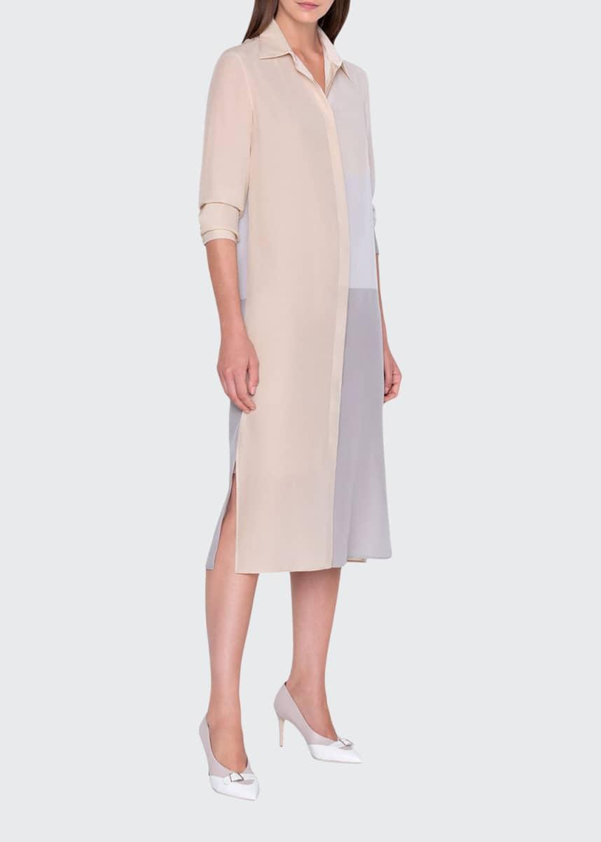 Akris Button-Front Dress
