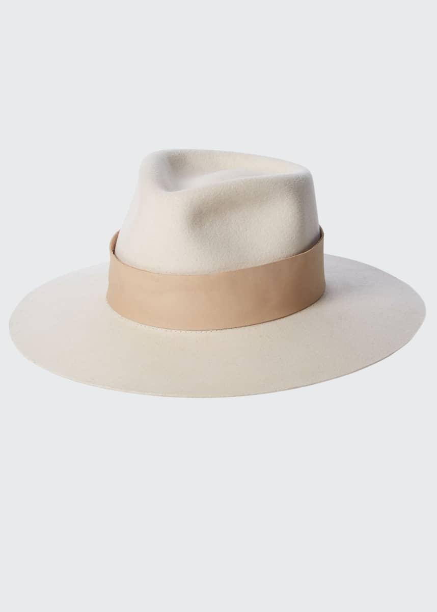 Janessa Leone Carter Wool Fedora Hat