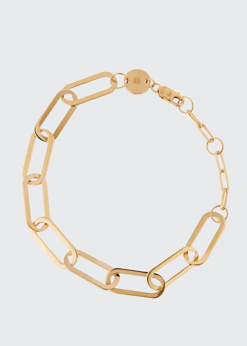 Jennifer Zeuner Marta Oval-Link Bracelet