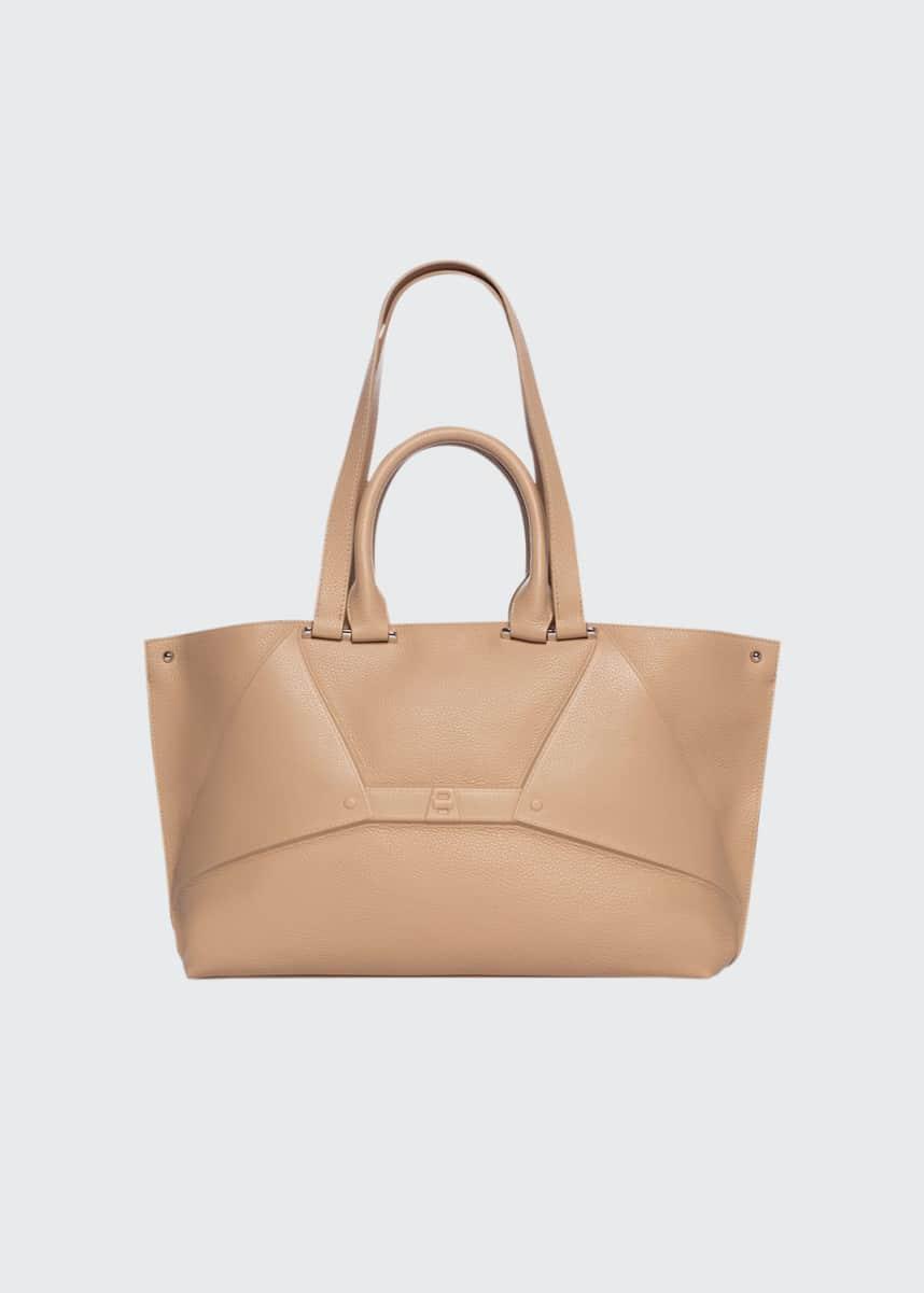 Akris Aicon Small Double-Handle Tote Bag