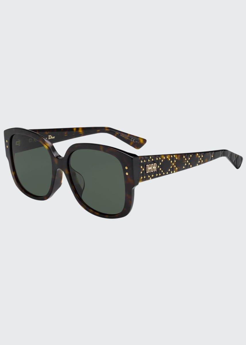 Dior LadyDiorStuds Square Studded Sunglasses