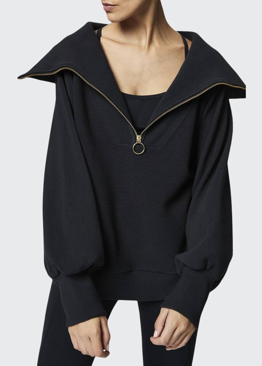Varley Vine Oversized 1/2-Zip Pullover Sweatshirt