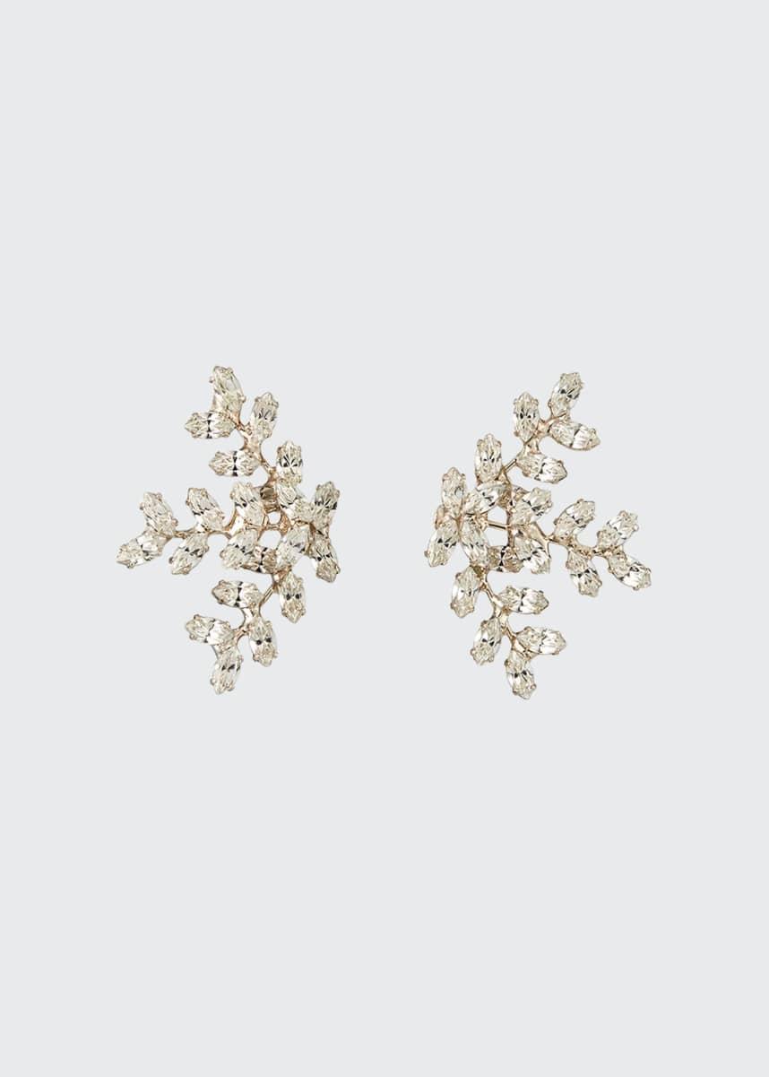 Jennifer Behr Viniette Crystal Earrings