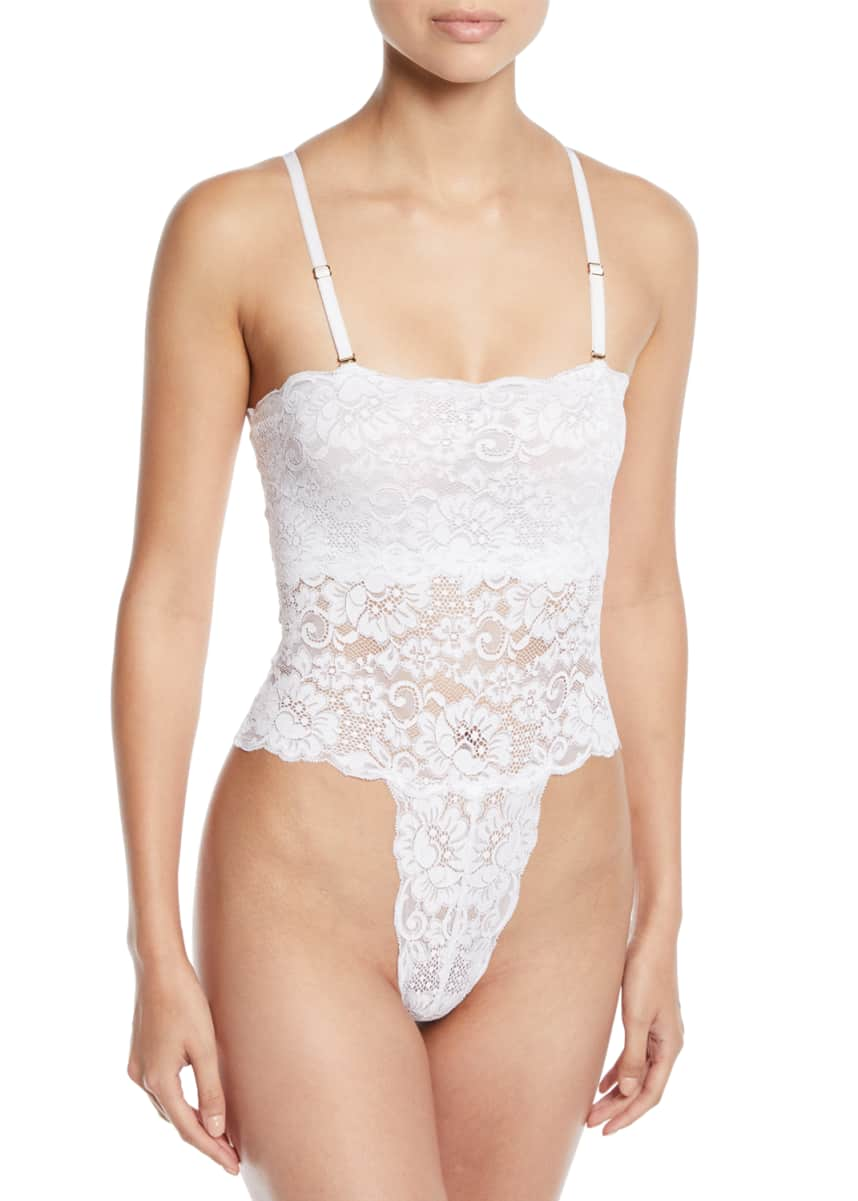 HAH / We Are HAH Spinster Reversible Lace Bodysuit