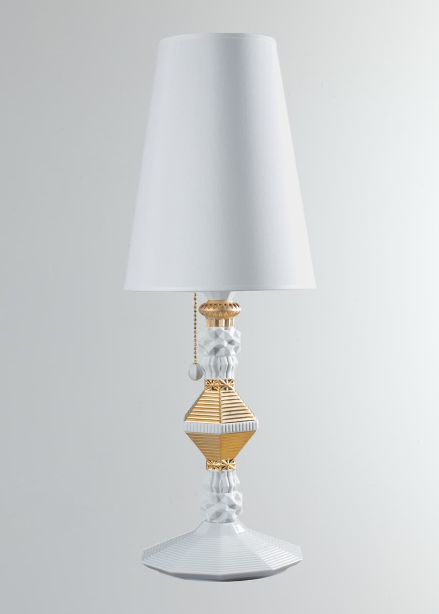 Lladro Belle de Nuit Table Lamp, Gold