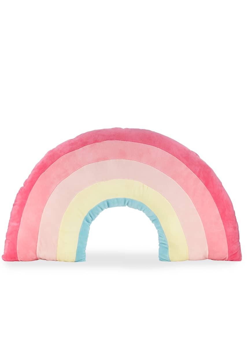 Gund Kids' Plush Rainbow Pillow