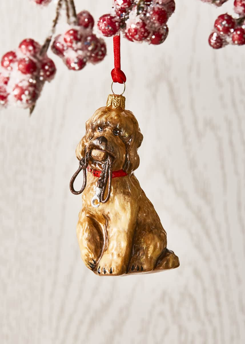 Joy To The World Collectibles Labradoodle Dog Christmas Ornament