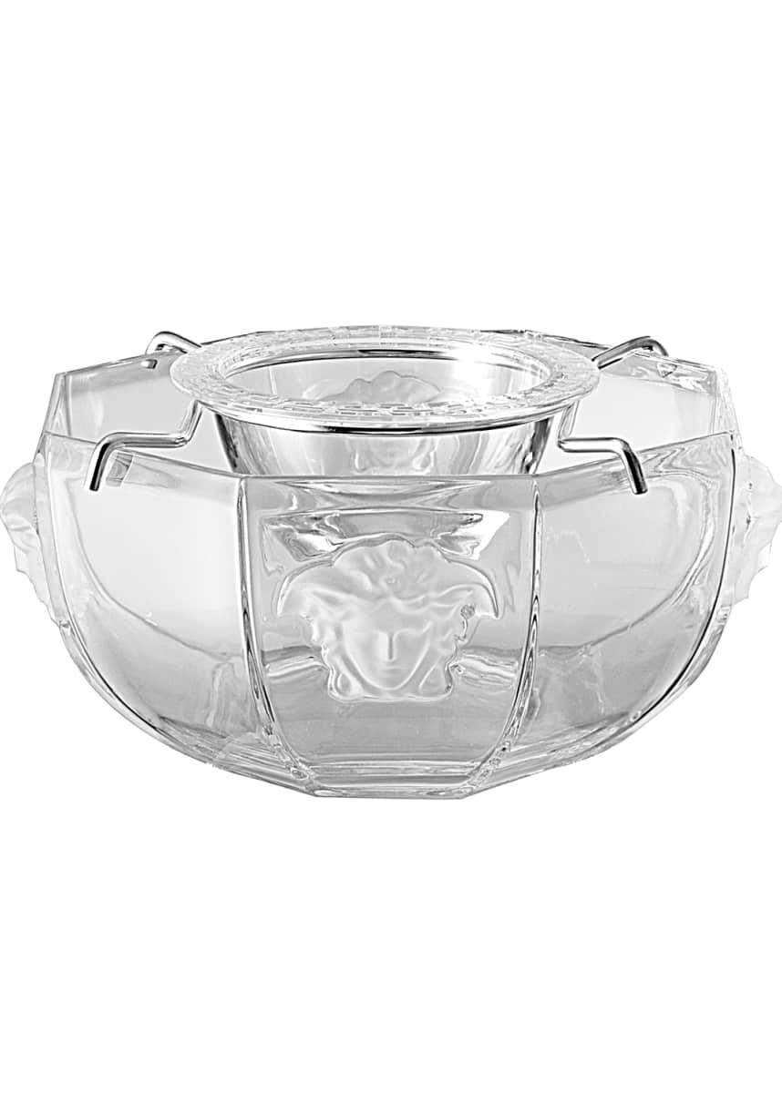 Versace Medusa Caviar Bowl
