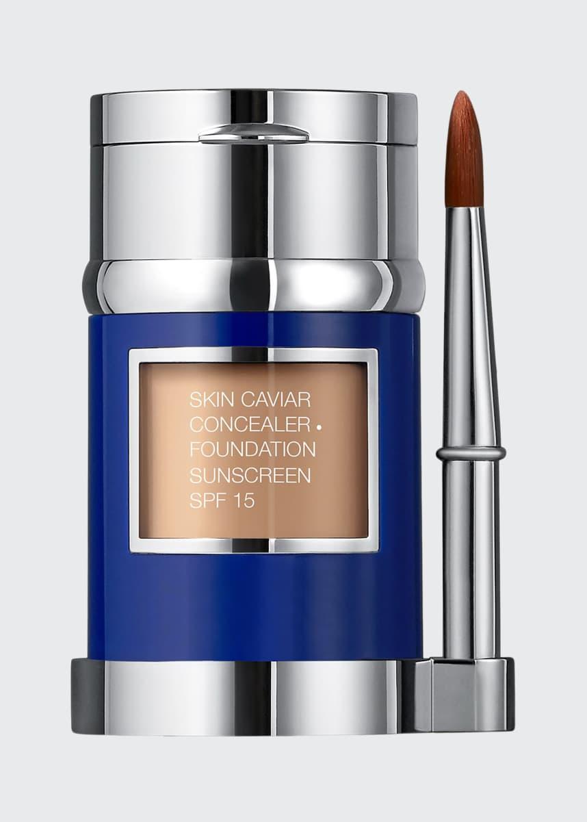 La Prairie Skin Caviar Concealer and Foundation Sunscreen SPF 15, 1.0 oz./ 30 mL