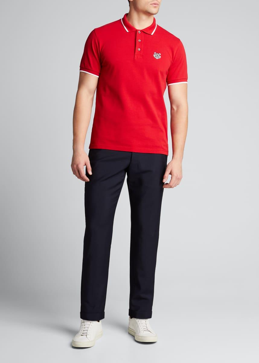 Kenzo Men's Pique-Knit Polo Shirt