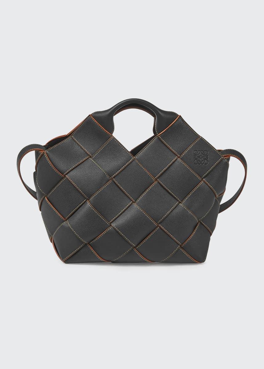 Loewe Woven Leather Basket Bag