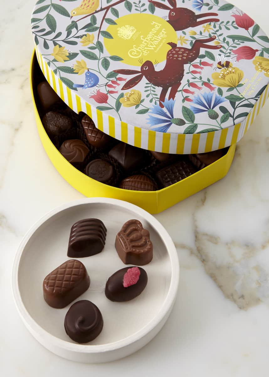 Charbonnel Et Walker Milk and Dark Chocolate Oval Easter Box