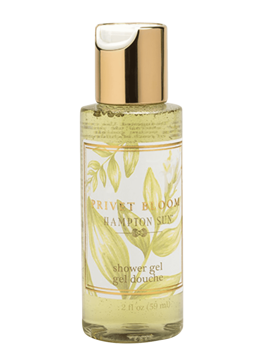 Hampton Sun Privet Bloom Shower Gel, 2 oz./ 59 mL