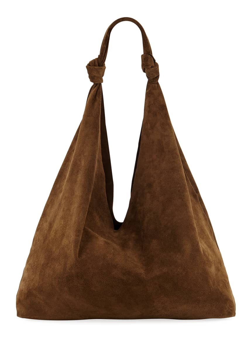 THE ROW Bindle Two Bag in Suede