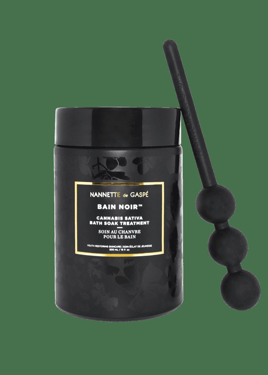 Nannette de Gaspe Bain Noir Cannabis Sativa Bath Soak Treatment, 17 oz./ 500 mL