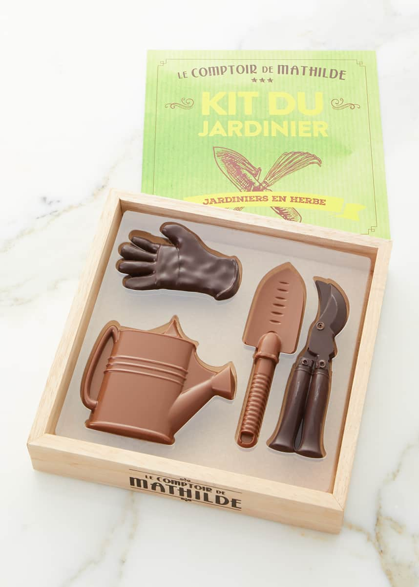 Le Comptoir de Mathilde Gardener Box Dark Milk Chocolates