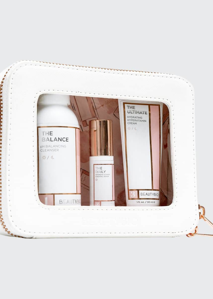 BeautyBio The Minis Starter Set, 4-Step Multivitamin AM Routine ($78 Value)