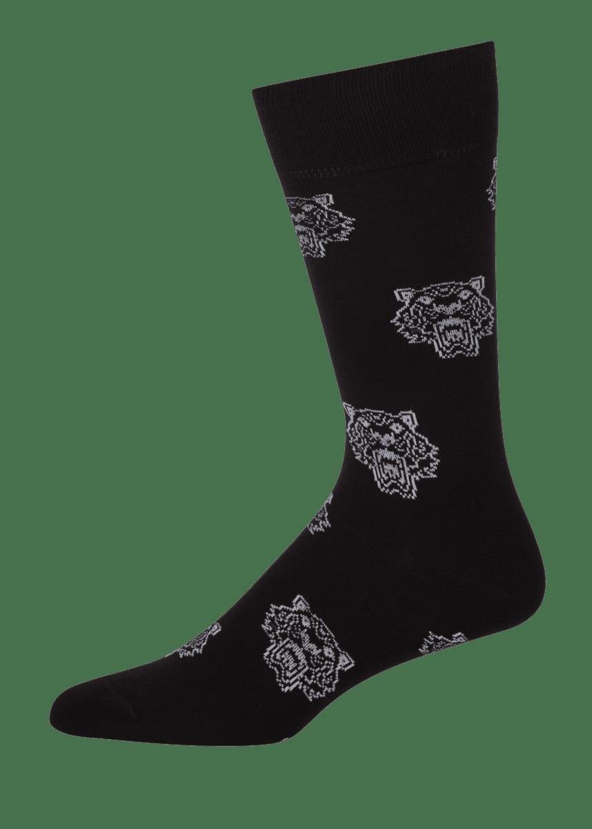 Kenzo Men's Jacquard Tiger Socks