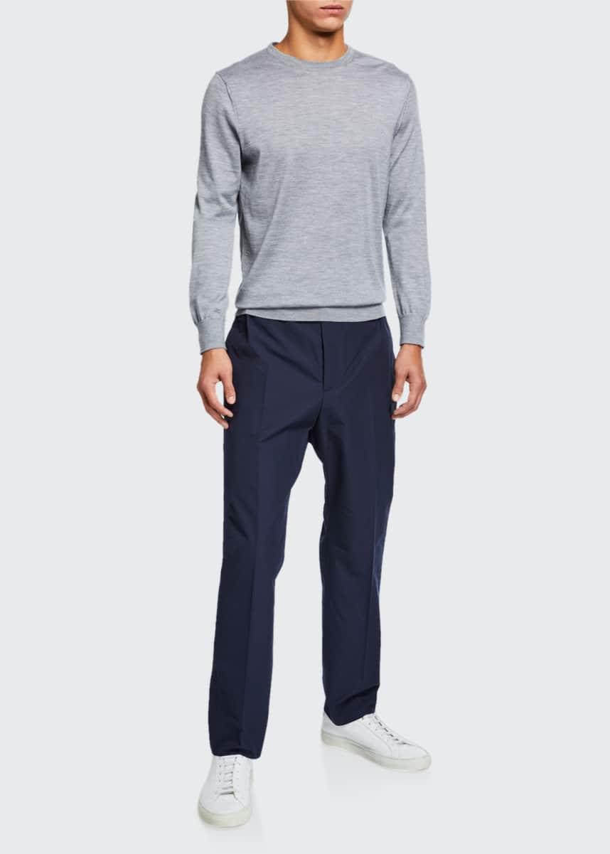 Gucci Men's Heavy Cotton Poplin Trousers
