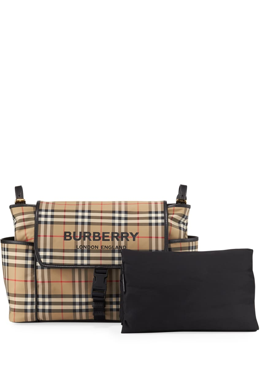 Burberry Check Diaper Bag