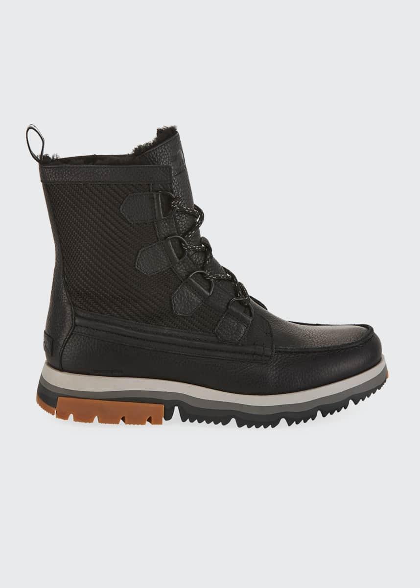 Sorel Men's Atlis Caribou Waterproof Boots
