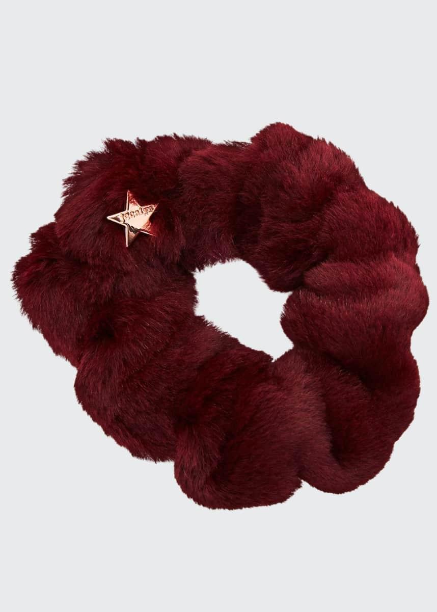 Jocelyn Sheared Rabbit Fur Scrunchie