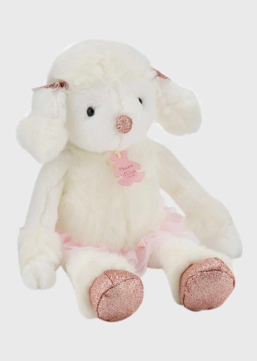 Histoire d'Ours Roxanne the Poodle Stuffed Animal