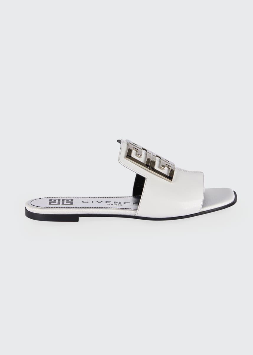Givenchy 4G Flat Slide Sandal Mules