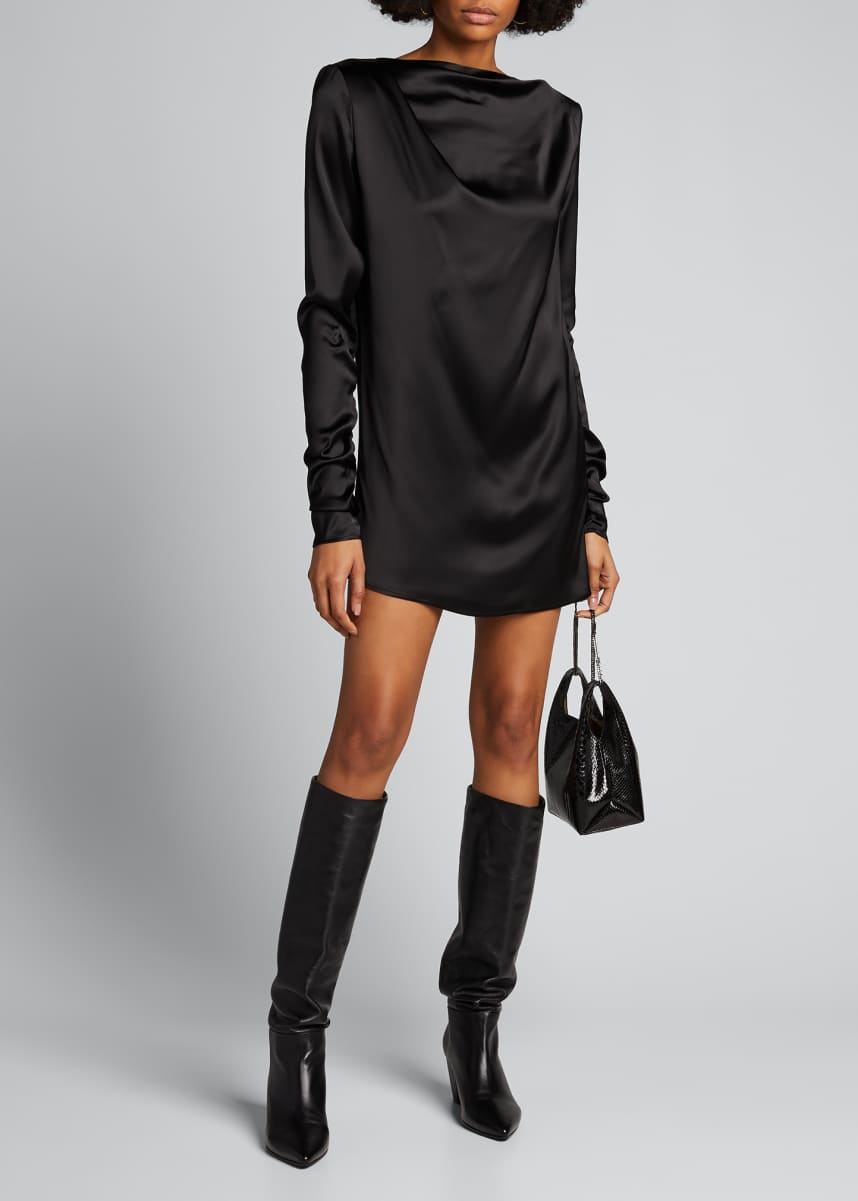 Gauge 81 Pisa Long-Sleeve Mini Dress