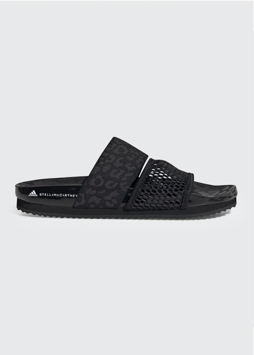adidas by Stella McCartney Stella Lette Two-Band Pool Sandals