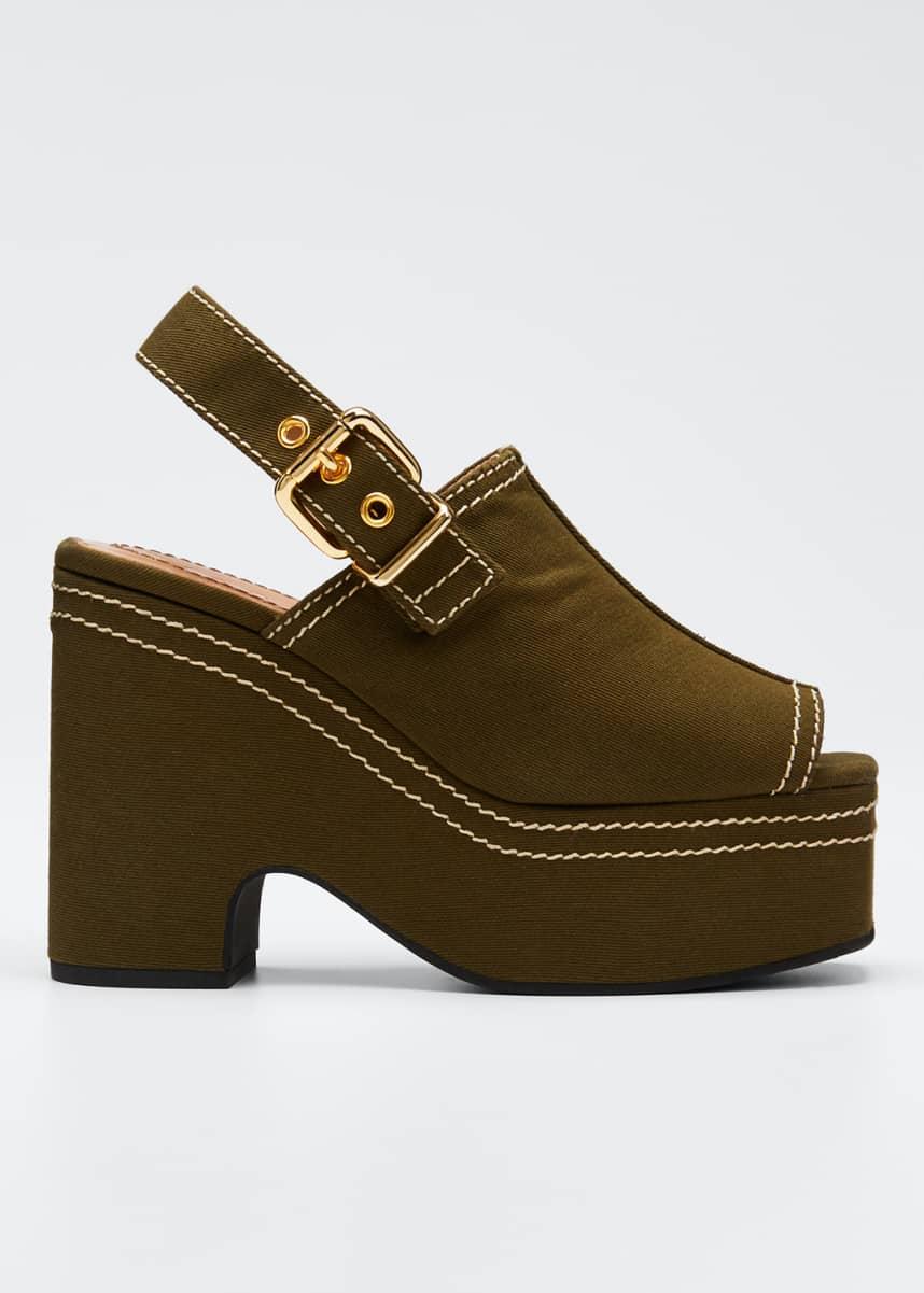 Marni Adventurer Platform Slingback Sandals