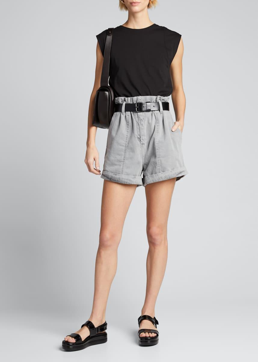 Iro Clichy High-Rise Shorts