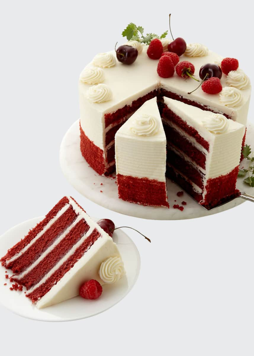 Tootie Pie Company Red Velvet Cake, For 12-20 People