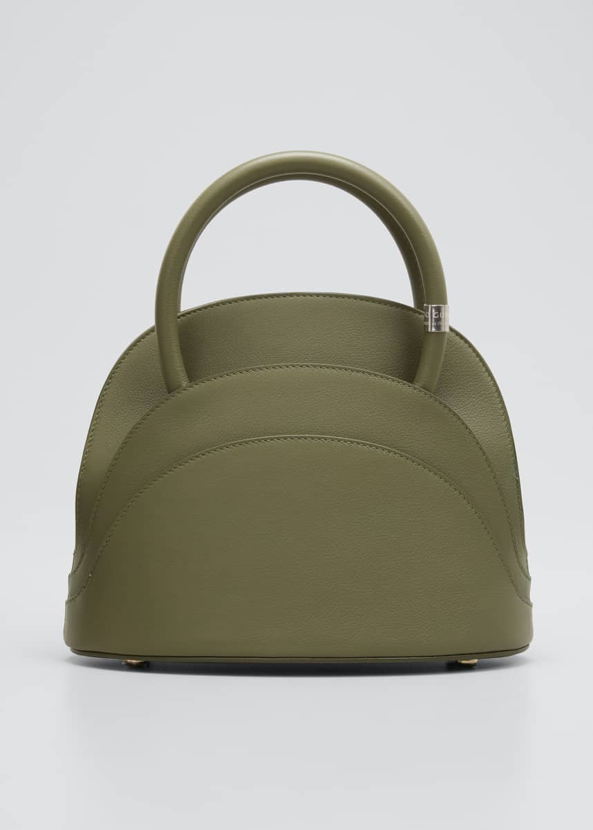 Gabo Guzzo Millefoglie M Mini Leather Top-Handle Bag