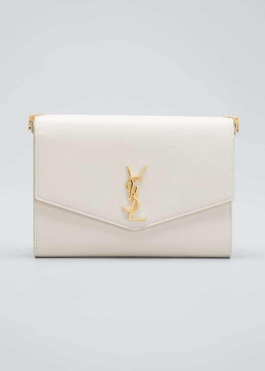 Saint Laurent YSL Uptown Envelope Shoulder Bag