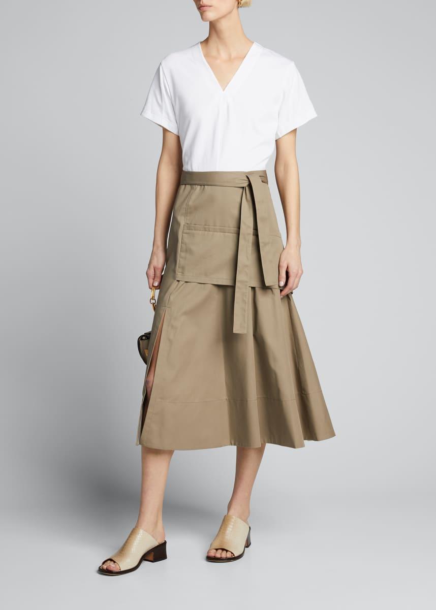 3.1 Phillip Lim Short-Sleeve Utility Dress