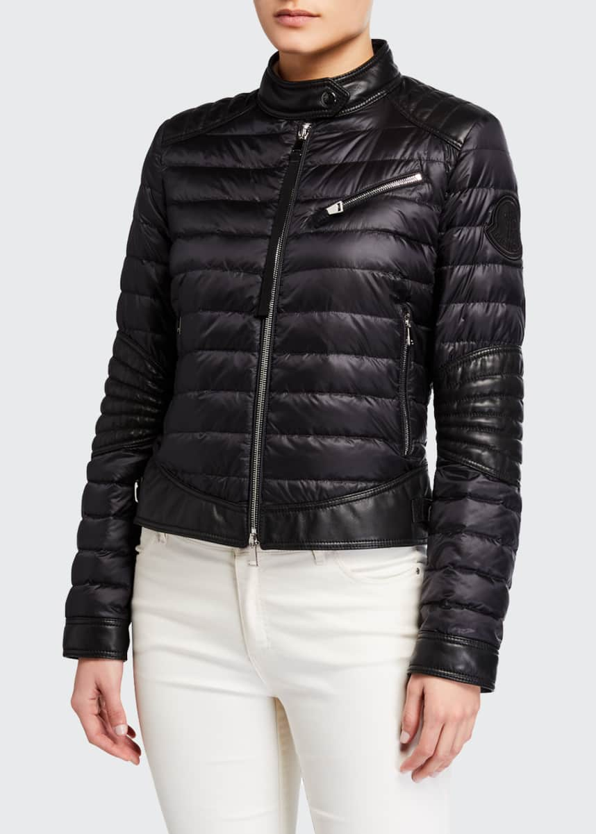 Moncler Citrouille Fitted Down Coat