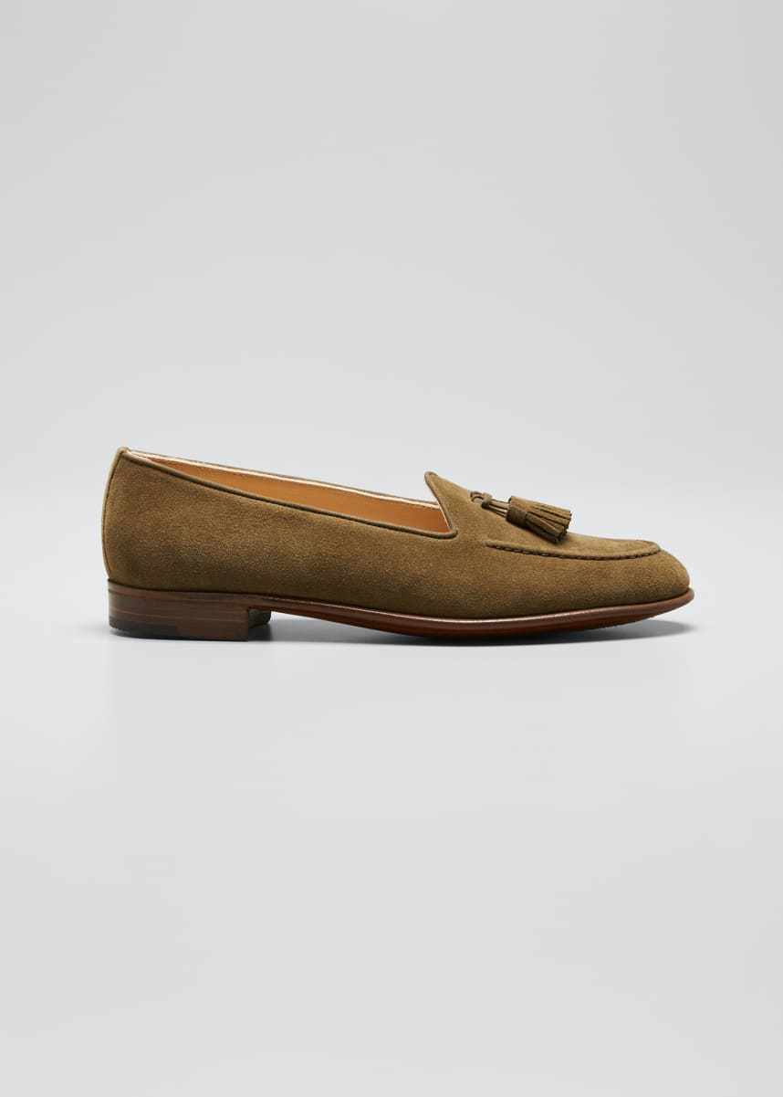 Gravati Suede Loafer with Tassels