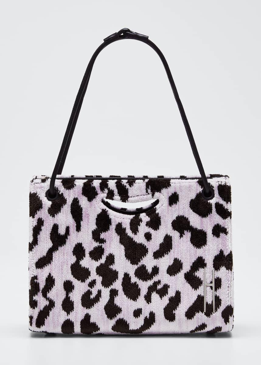 Hayward Mini 1712 Peony Leopard Clutch Bag