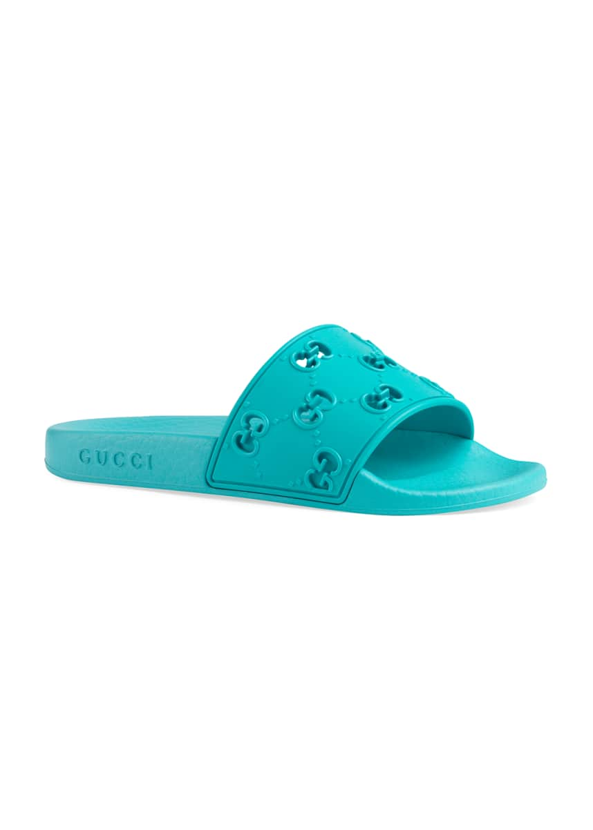 Gucci GG Cutout Slide Sandals, Toddler/Kids