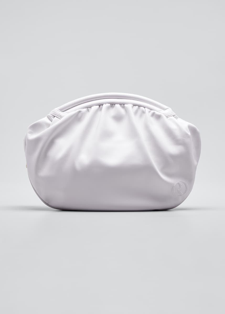 RODO Round Leather Clutch Bag